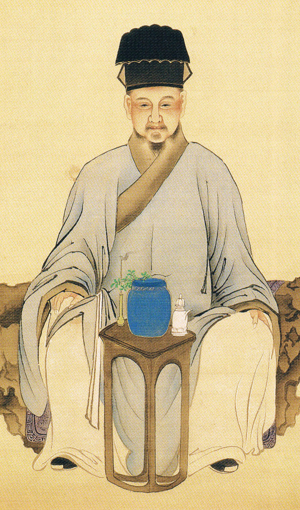 Haruki Nanmei,ritratto di Lu Yu,1846