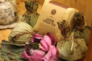 Tè vietnamita al fiore di loto