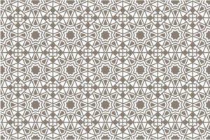 Decorazione ad arabesco tipica della cultura islamica