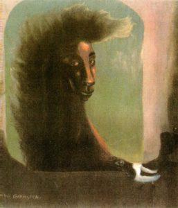 Leonora Carrington, Femme et Oiseau, 1937