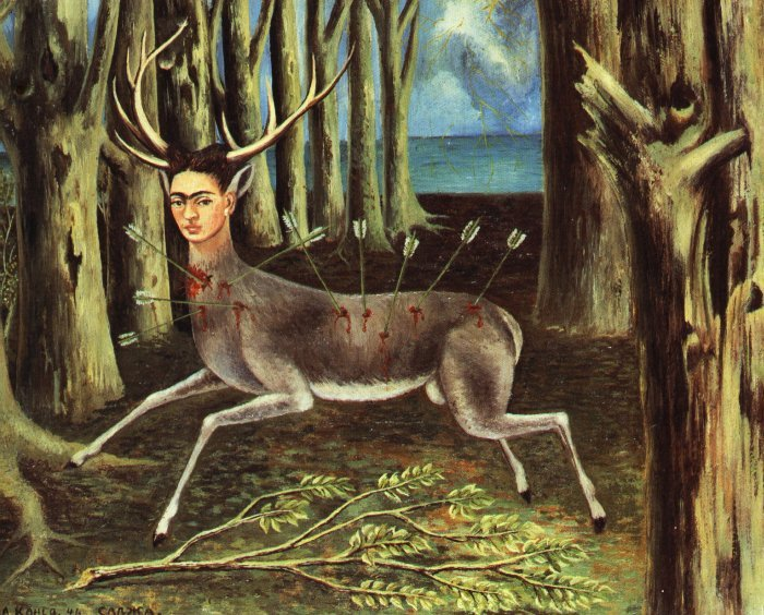 Frida Kahlo, Il Cervo ferito, 1946