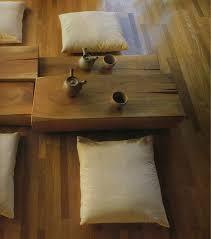 Un angolo arredato in stile Wabi-Sabi